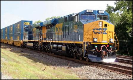 CSX Engine - The National Gateway Project is helping you.